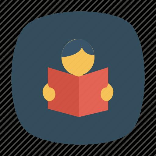 book, chemistry, notebook, physics, presentation, student, study icon