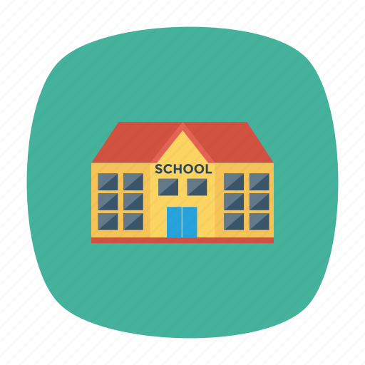 building, college, education, school, university icon