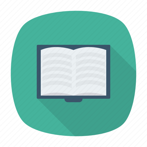 book, education, knowledge, magazine, open, text, textbook icon