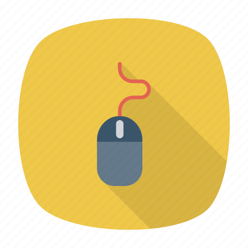 computer, device, hardware, interface, mouse, move, technology icon