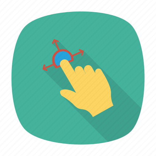 cleaning, duster, finger, gesture, hand, handgaster, touchscreen icon
