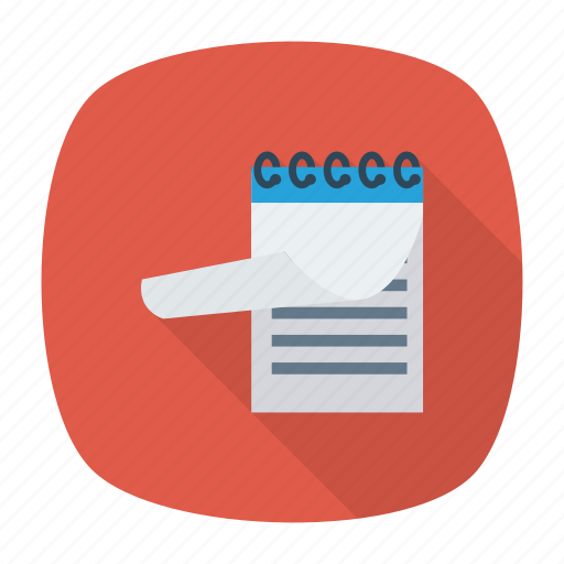Clipboard, education, note, notepad, pad, paper, writingpad icon - Download on Iconfinder