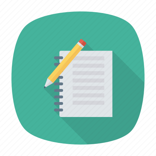office, paper, pencil, stationery, tool, write, writing icon