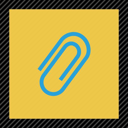 attach, clip, file, paper, staple icon
