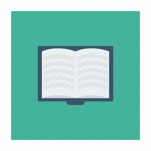 book, education, knowledge, magazine, open, text, textbook icon