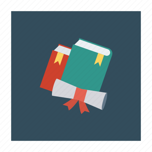 books, education, graduate, knowledge, library, reading, study icon