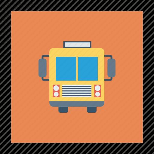 bus, school, schoolbus, transport, transportation, travel, vehicle icon