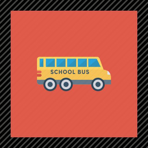 car, school, transport, travel, truck, van, vehicle icon