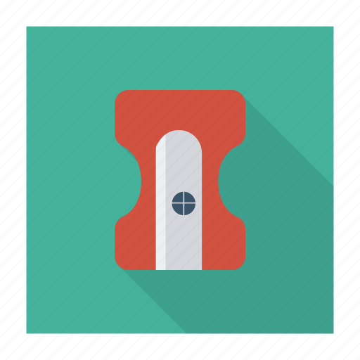 business, education, office, pencil, sharpener, stationary, tool icon