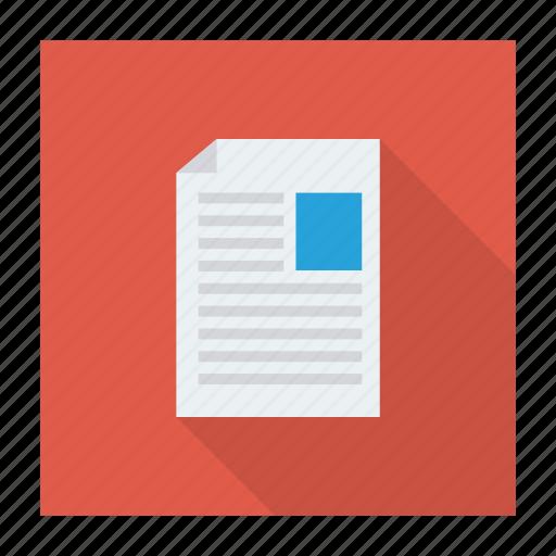 cv, document, letter, portfolio, profile, resume, sending icon