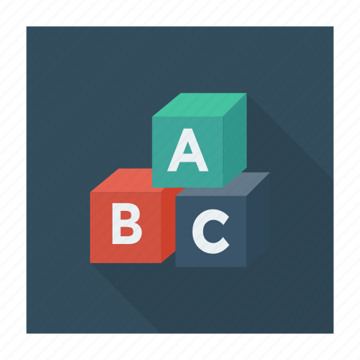 abc, alpha, alphabet, education, letter, letters, math icon
