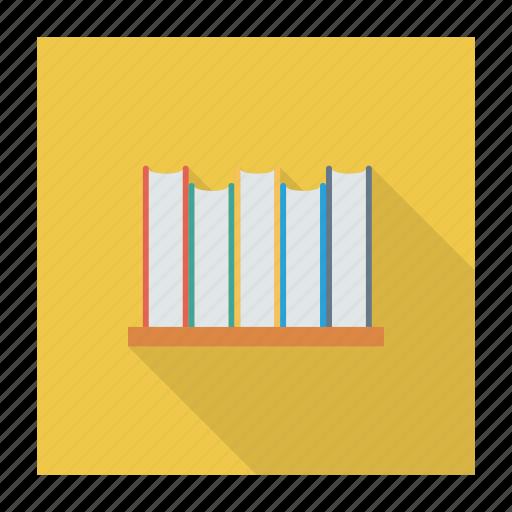 book, bookmark, books, education, library, school, study icon