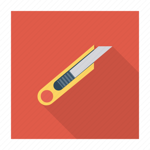 cutter, cutting, knife, office, paper, papercutter, supplies icon