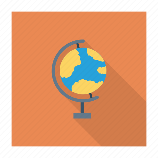 education globle map pinpoint world icon