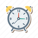 alarm, clock, ontime, stopclock, time, warning, watch icon