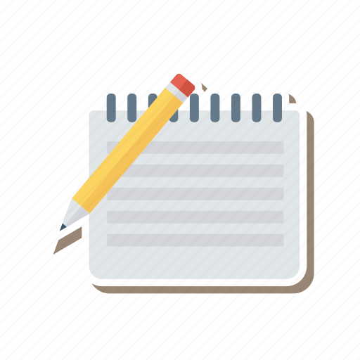 document, drawing, edit, file, pen, pencil, write icon