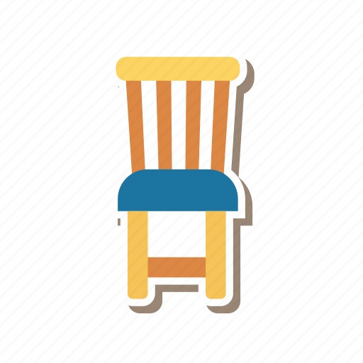 chair, decoration, education, furniture, office, seat icon