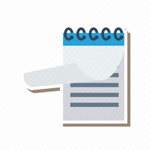 clipboard, education, note, notepad, pad, paper, writingpad icon