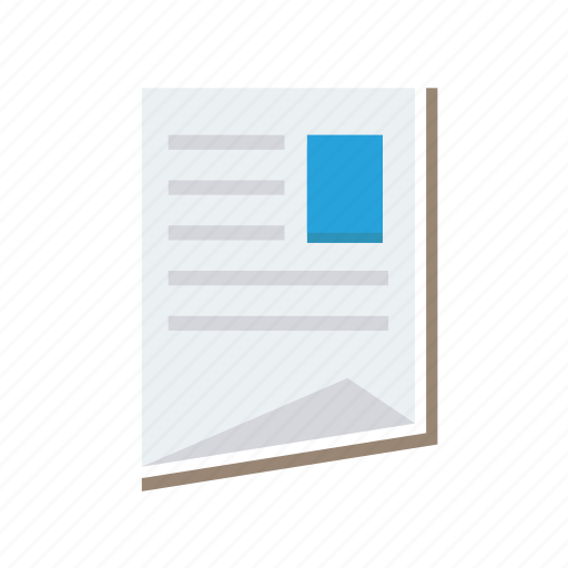 document, file, office, page, paper, report, sheet icon