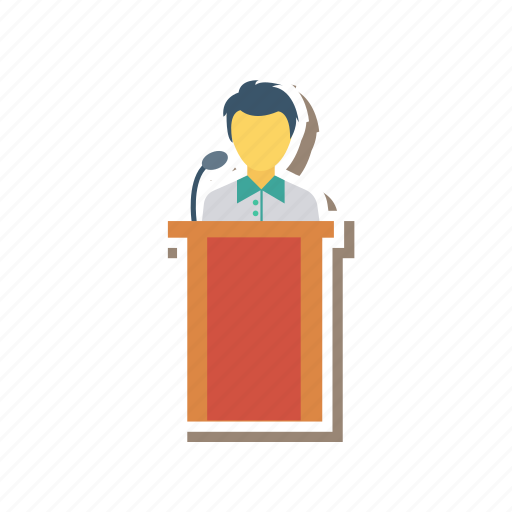 analytics, business, office, presentation, seminar, strategy, training icon