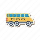 car, school, transport, travel, truck, van, vehicle icon