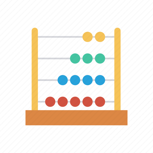 abacus, calculate, calculator, counter, counting, game, math icon