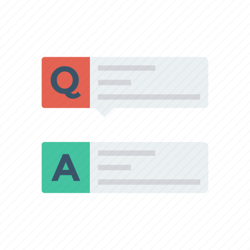 answer, comment, communication, faq, help, question, thinking icon