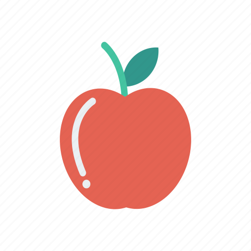 apple, diet, food, fruit, health, nature, vegetable icon