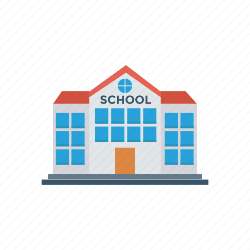 architecture, building, classroom, college, education, school, university icon