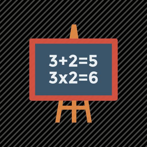 approve, blackboard, board, chalkboard, schoolboard, tick, write icon