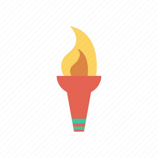 camping, fire, hot, light, sports, tablelamp, torch icon
