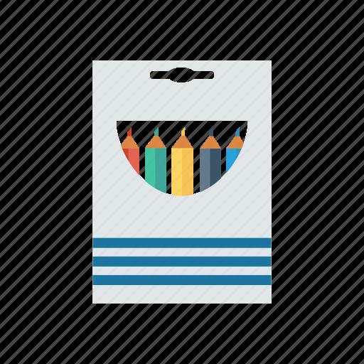 color, colortool, gray, pencil, purple, red, yellow icon
