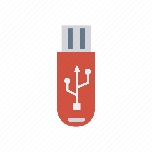 connector, data, drive, flash, memory, transfer, usb icon