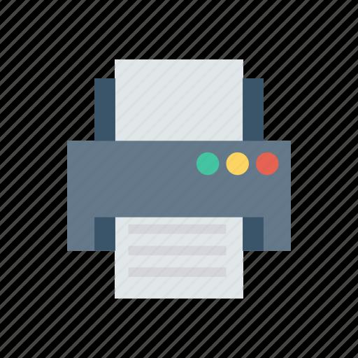 computer, copy, machine, papper, print, printer, printing icon