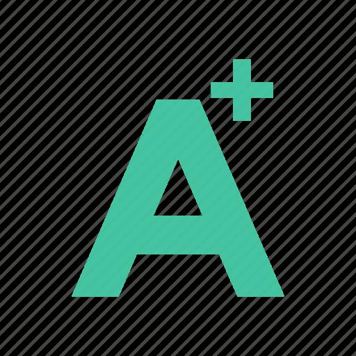 exam, goodgrade, grade, letter, result, school, test icon