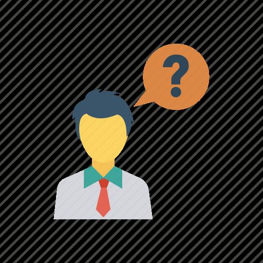 avatar, idea, person, student, teacher, thinking, user icon