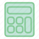 calculation, calculator, calculator icon, math, mathematics icon