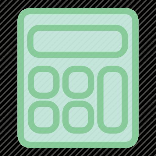 calculation, calculator, calculator icon, math, mathematics icon
