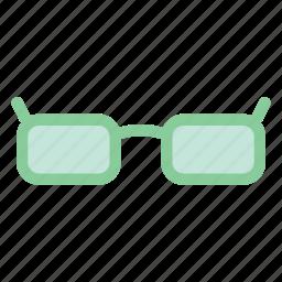doctor, eyeglasses, glasses, smart, student icon