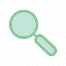 find, loop, research, search icon