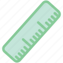 engineering, measure, measurement, ruler icon