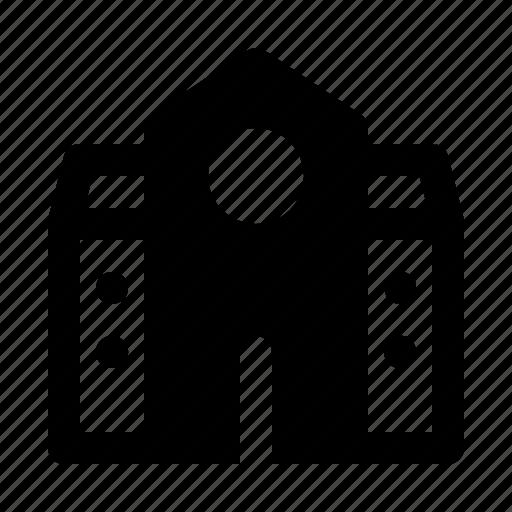 building, education, house, school icon