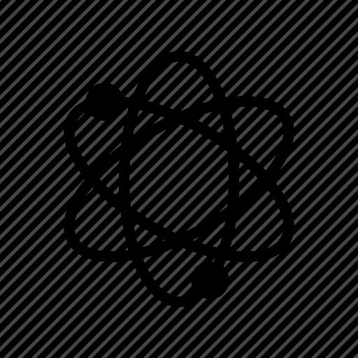 atom, electron, molecule, science, structure icon