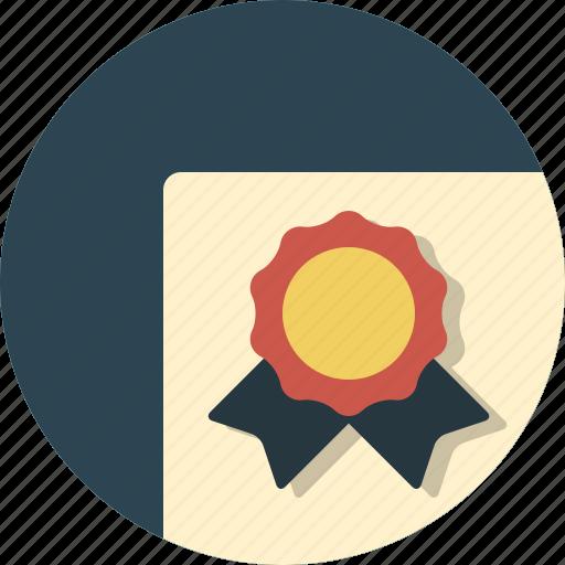 degree, diploma icon