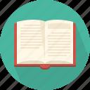 book, open