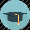 hat, student icon