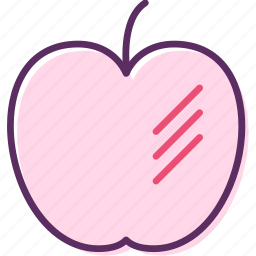 apple, apple fruit, edible fruit, fruit, fuji, pome icon
