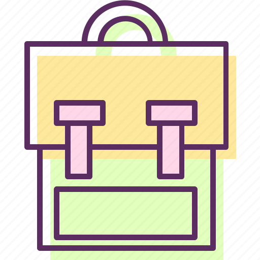 backpack, bag, haversack, knapsack, pack, rucksack icon