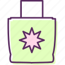 bag, baggage, handbag, luggage, traveling bag icon