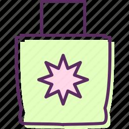 bag, baggage, handbag, luggage, traveling bag icon
